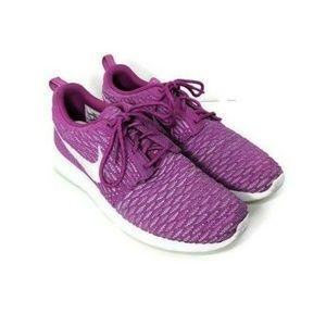 Nike Rosherun Fly Knit Pink White Fuchsia Sneaker